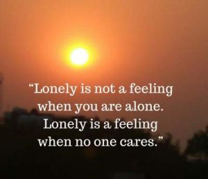 lonely status quotes