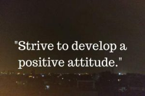 one line status on attitude