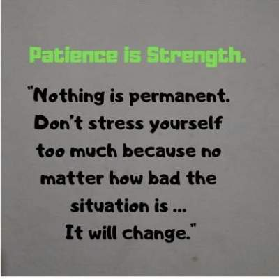 good status on patience