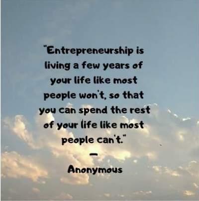 life of an entrepreneur quotes