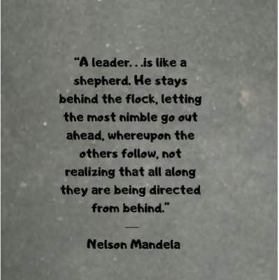 leadership quotes by nelson mandela