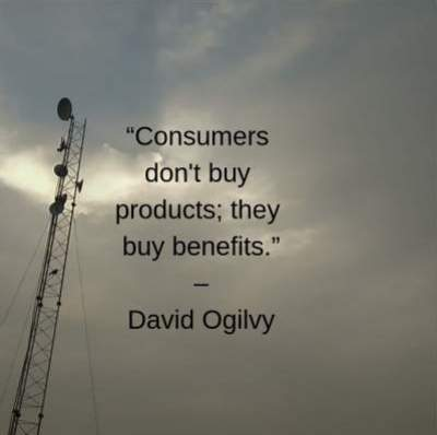marketing quotes on consumers by David Ogilvy
