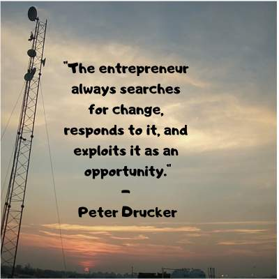 quotes on entrepreneur by Peter Drucker