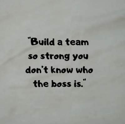 quotes on strong team