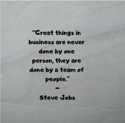 teamwork quotes by steve jobs