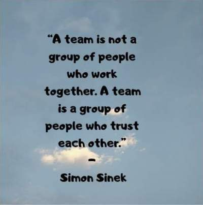 teamwork quotes simon sinek