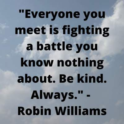 postive thoughts on being kind