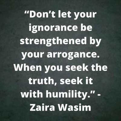 positive quotes on humility