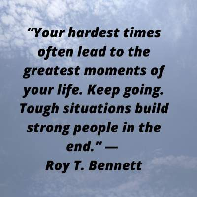 inspirational status quotes on hardest time of life