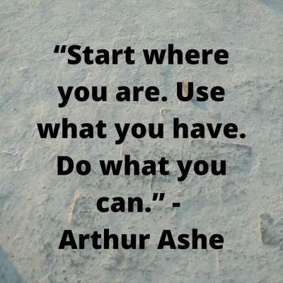 inspirational quotes for starting
