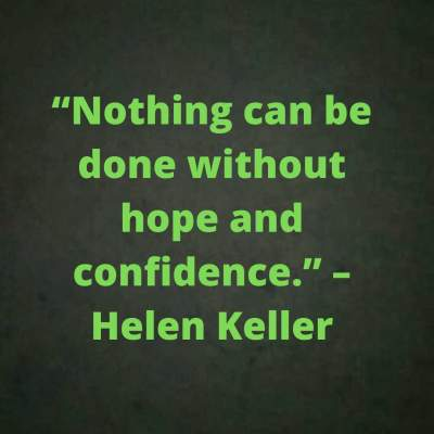 motivational quotes on hope and confidence